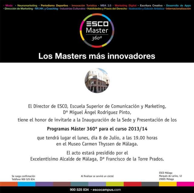 Presentacion Master Malaga